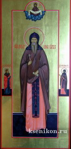 Александр Вочский Галичский. Мерная икона