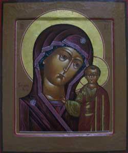Казанская Образ Божией Матери