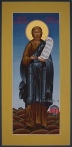 Никтита Константинопольский Хартуларий. Мерная икона