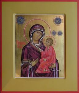 Тихвинская Образ Божией Матери
