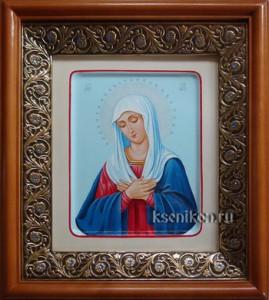 Умиление (Невеста Неневестная). Икона в киоте.