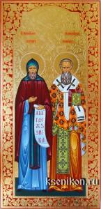 Кирилл и Мефодий, учителя Словенские