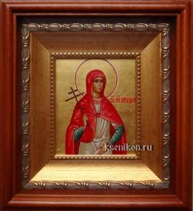 Ариадна Промисская. Икона в киоте.
