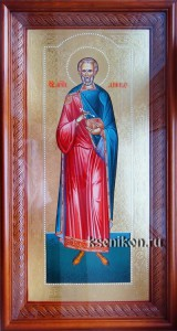 Диомид Тарсянин Никейский. Икона в киоте.